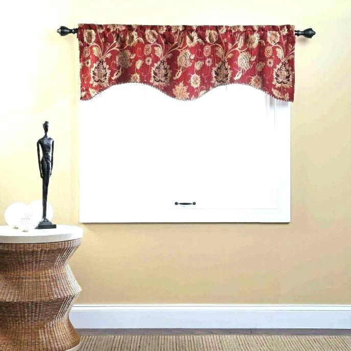 Red Kitchen Curtains And Valances – Paultay (View 21 of 25)
