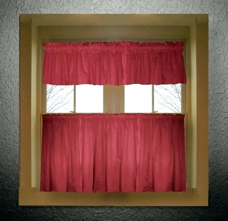 Red Kitchen Curtains And Valances – Paultay (View 2 of 25)