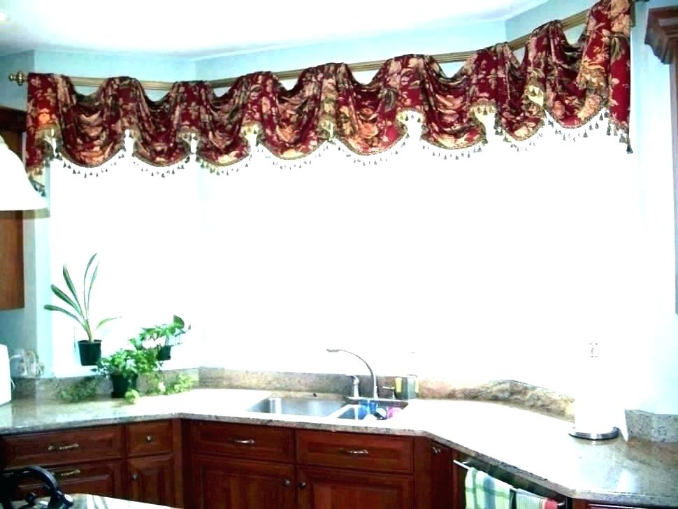 Red Kitchen Curtains And Valances – Paultay (View 4 of 25)