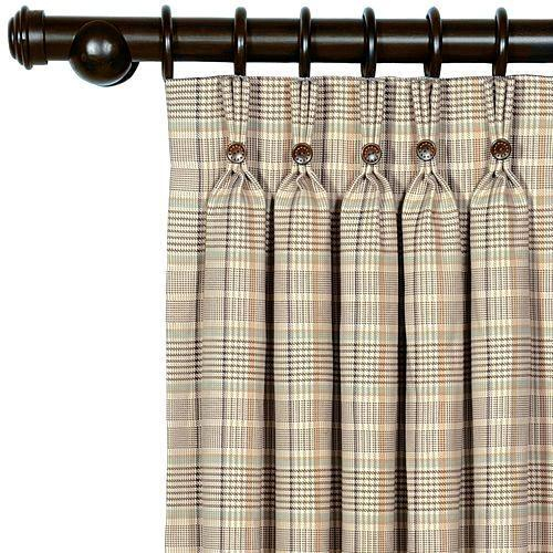 Red Plaid Curtain Panels – Scholam (View 24 of 25)