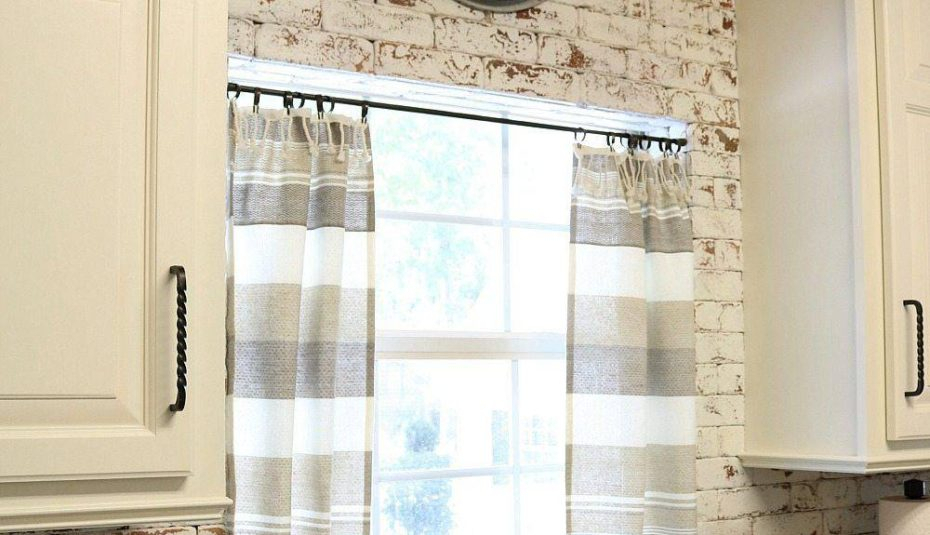 Refresh Restyle Farmhouse Kitchen Curtains Ideas Gray And Intended For Rustic Kitchen Curtains (View 21 of 25)
