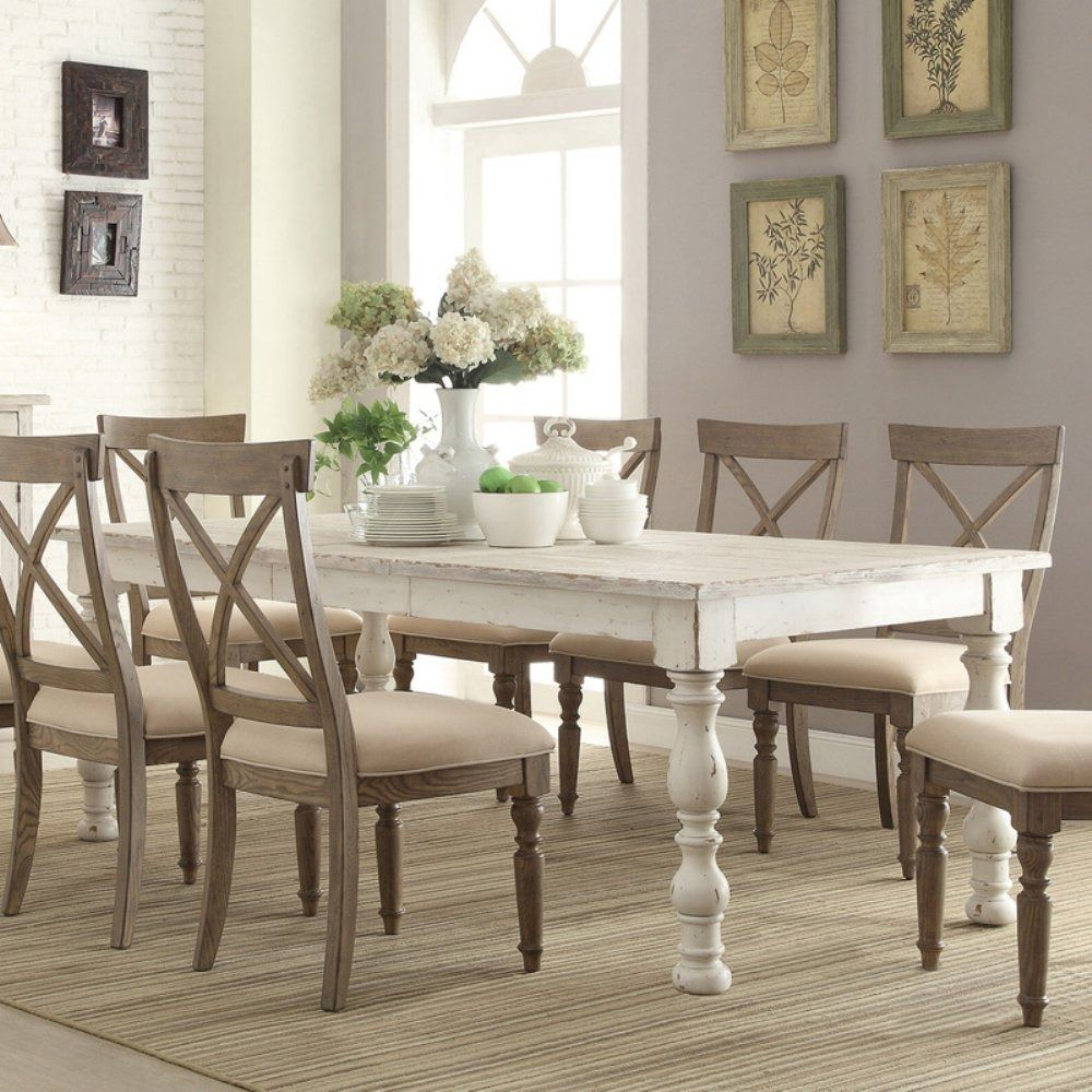 Riverside Aberdeen Rectangular Dining Table | Dining Room With Regard To Newest Brown Wash Livingston Extending Dining Tables (View 5 of 25)