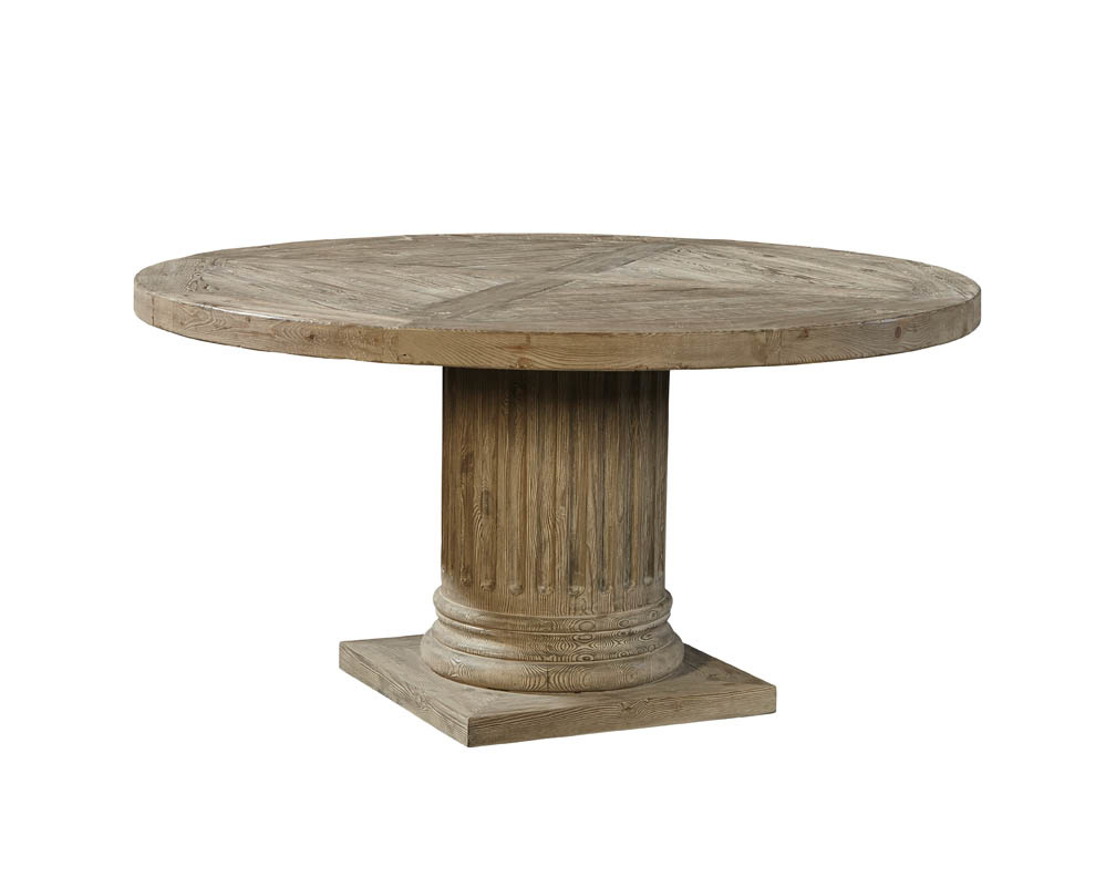 Roman Pedestal Table In Best And Newest Dawson Pedestal Dining Tables (Image 20 of 25)