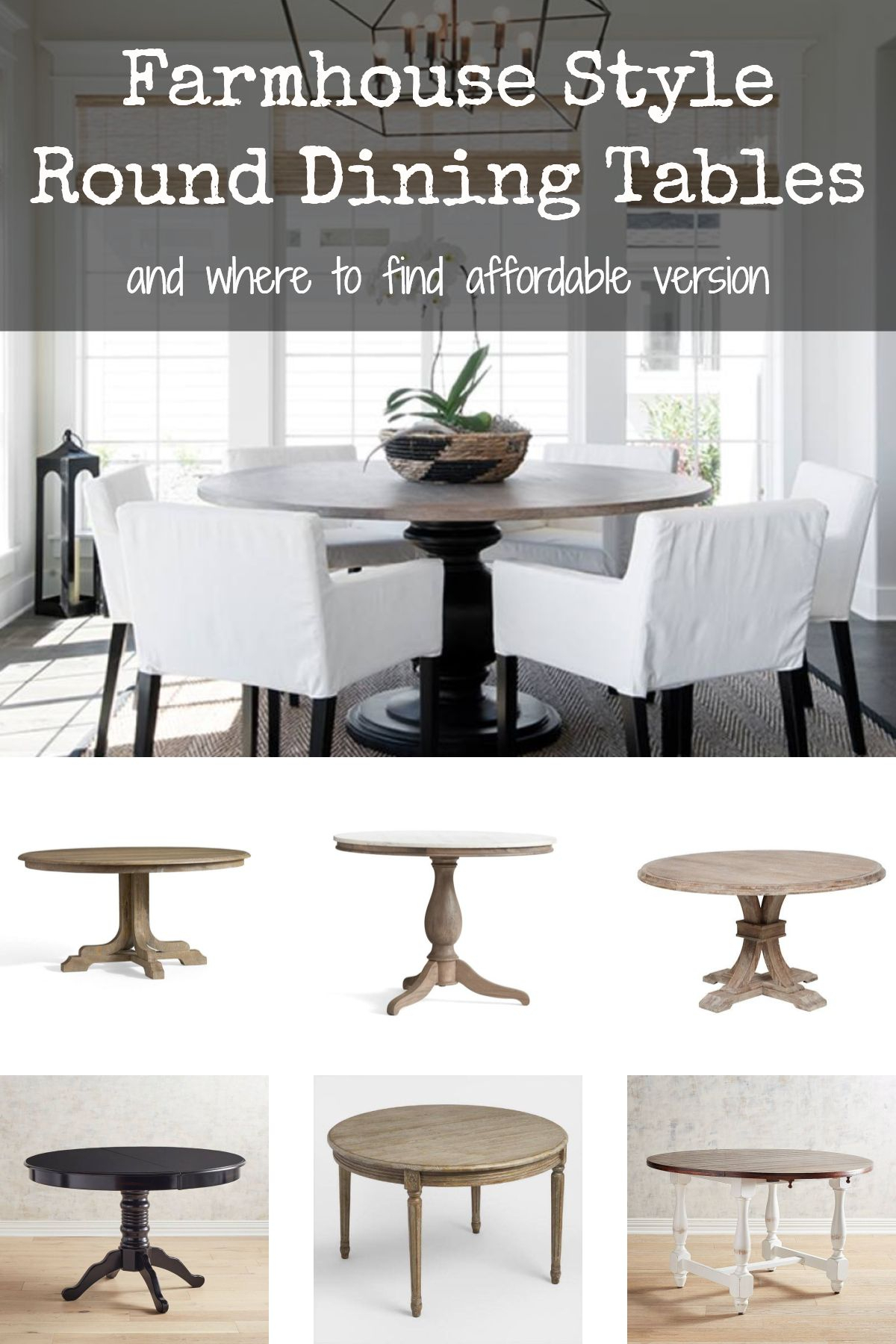 Room Redo: Modern Farmhouse Dining Roombalis | Farmhouse Within Most Up To Date Black Olive Hart Reclaimed Pedestal Extending Dining Tables (View 8 of 25)