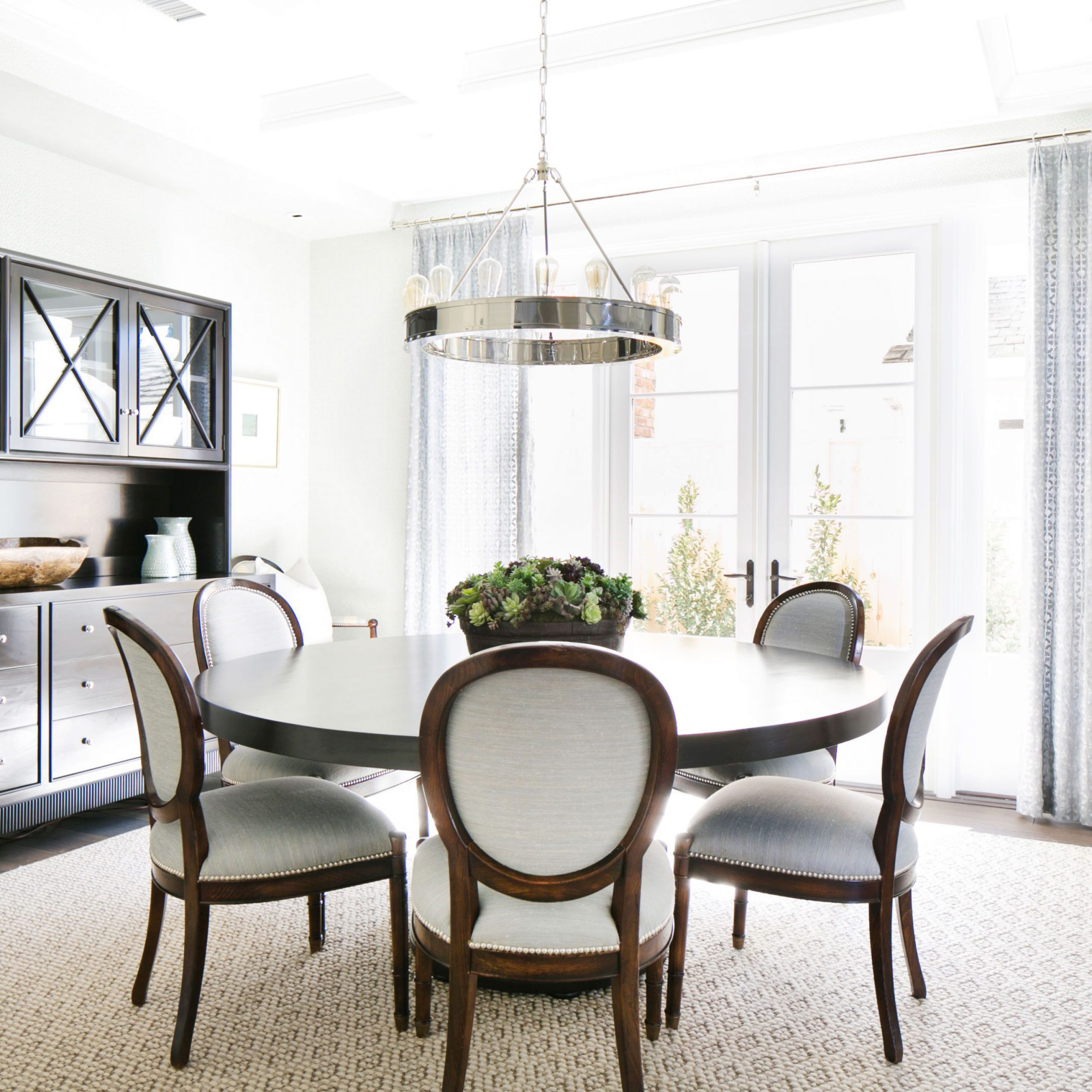 Round Dining Room Tables For 12: Brooks Round Dining Tables