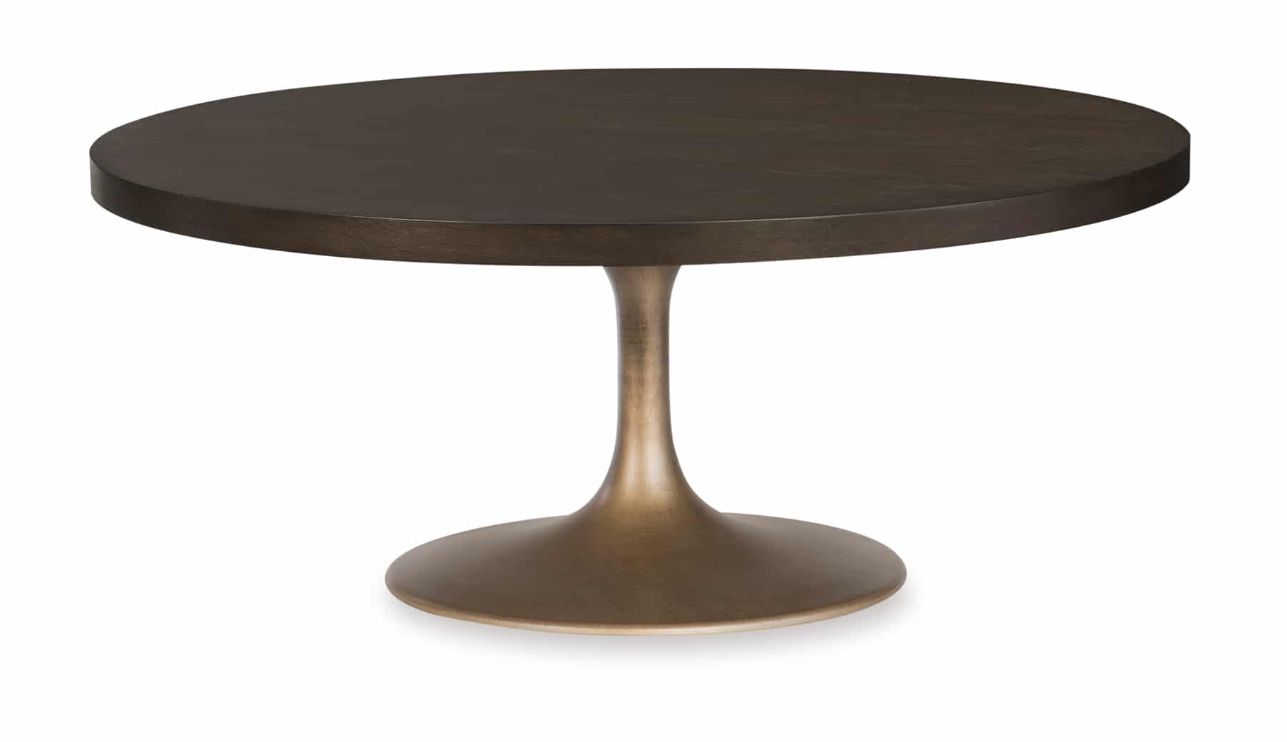 Round Pedestal Cocktail Table – Rachael Ray Regarding Best And Newest Dawson Pedestal Tables (View 21 of 25)
