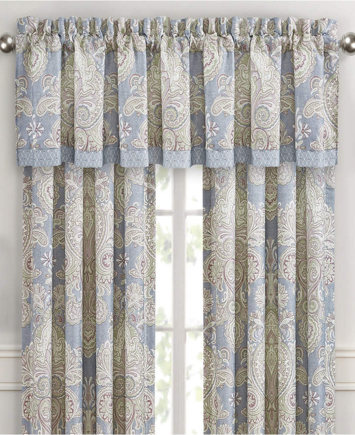 Royal Court Palermo Cream 16 Square Bedding | Products Throughout Luxury Light Filtering Straight Curtain Valances (Image 16 of 25)