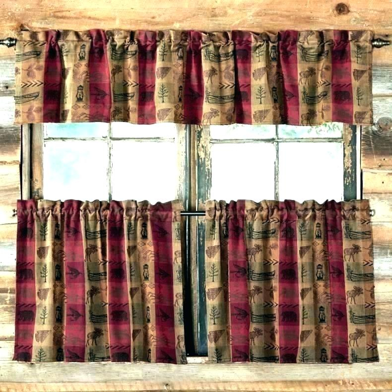 Rustic Curtains And Valances Kitchen New Cabinets Near Me For Red Rustic Kitchen Curtains (View 17 of 25)