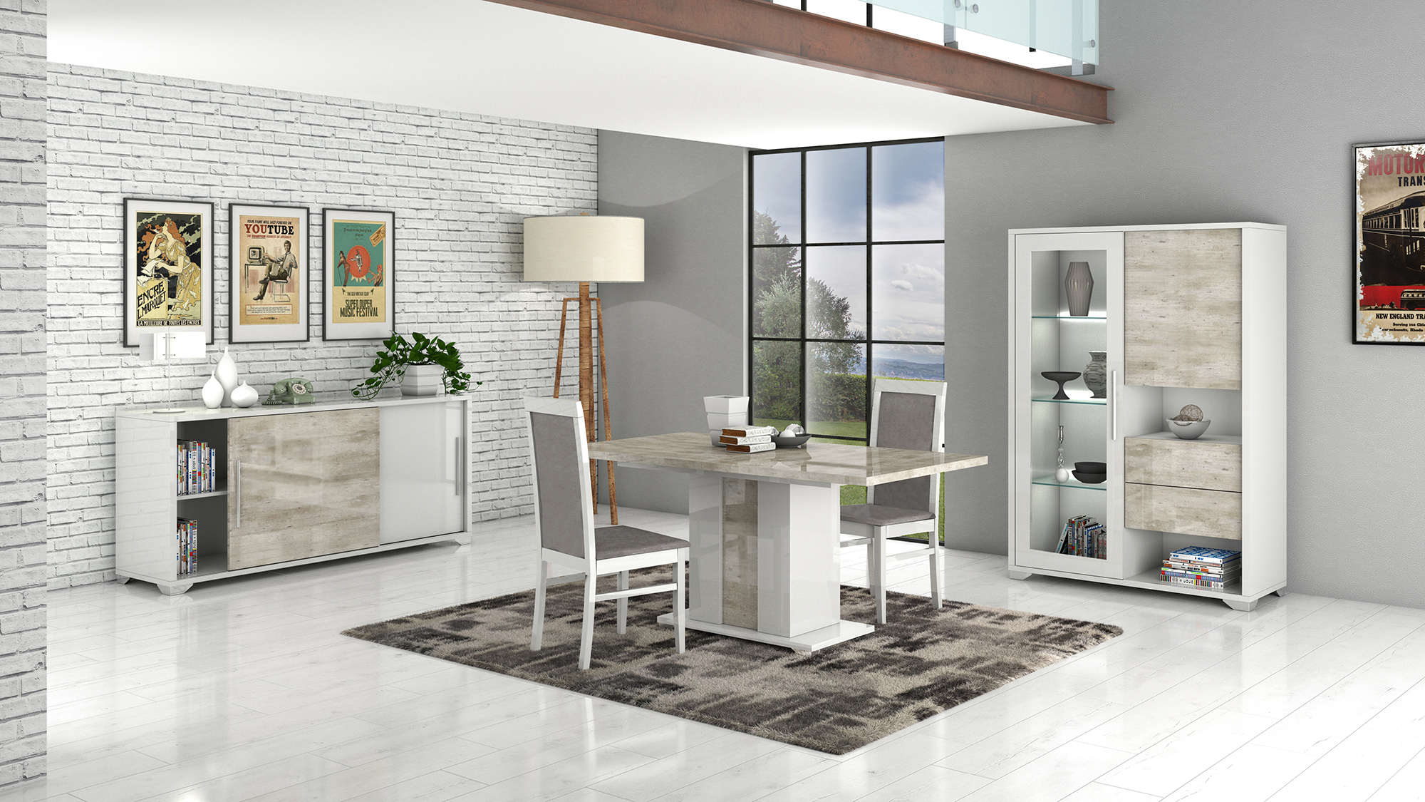 San Martino Palladio Dining Room Furniture – Italian Dining In Most Popular Martino Dining Tables (View 21 of 25)