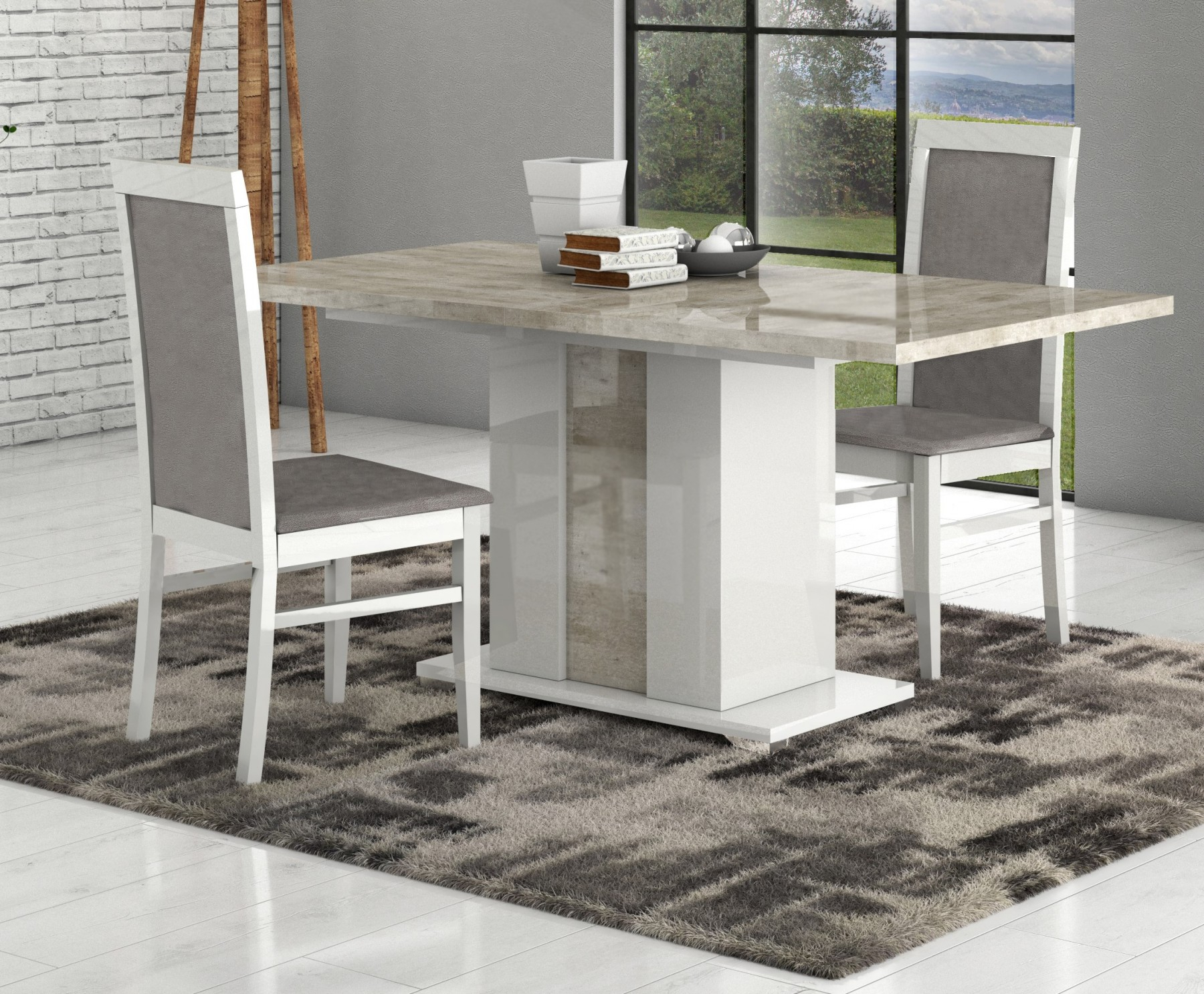 San Martino Palladio Rectangular Wooden Table With Extension Pertaining To Recent Martino Dining Tables (View 5 of 25)