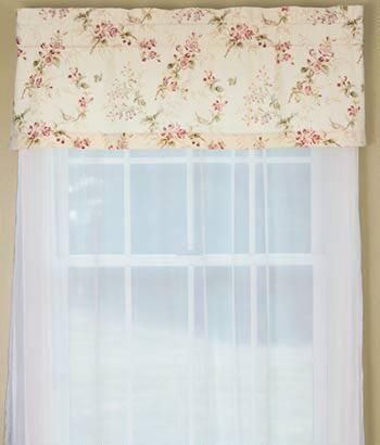 Sanctuary Tailored Valance $ (View 2 of 25)