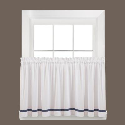 Saturday Knight Holden Dove Gray Polyester Rod Pocket Tier For Dove Gray Curtain Tier Pairs (View 11 of 25)