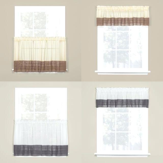 Saturday Knight Ltd Modern Brown Tuxedo Pleat Hem Window Pertaining To Pleated Curtain Tiers (View 17 of 25)