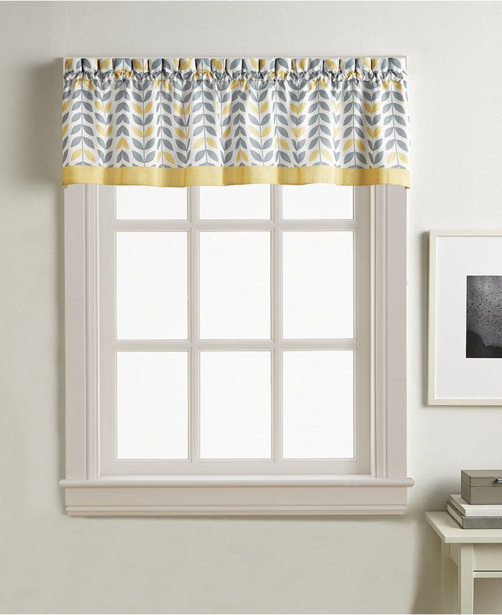 Featured Image of Forest Valance And Tier Pair Curtains