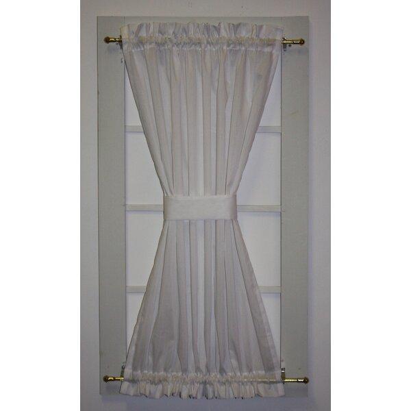 Semi Sheer Door Panels | Wayfair With Ivory Micro Striped Semi Sheer Window Curtain Pieces (View 23 of 25)