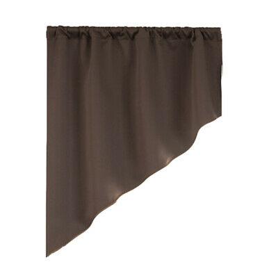 Semi Sheer Rod Pocket Tier Curtains Short Valance Curtain Regarding Micro Striped Semi Sheer Window Curtain Pieces (View 9 of 25)