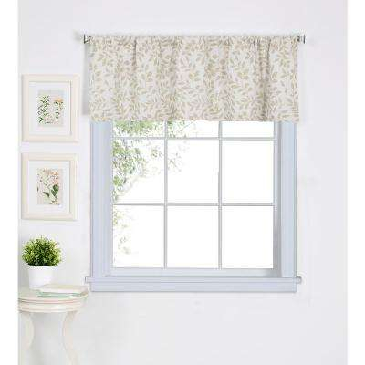 Serene Kitchen Tier Window Valance Intended For Wallace Window Kitchen Curtain Tiers (View 25 of 25)