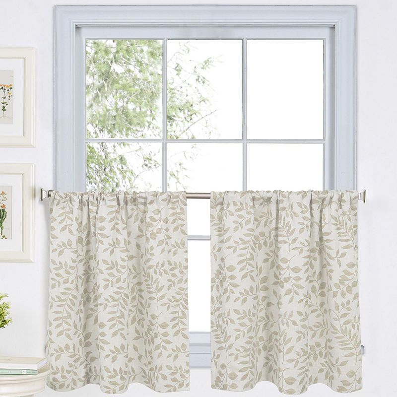 Serene Rod Pocket Window Tiers | Products | Kitchen Curtains Pertaining To Serene Rod Pocket Kitchen Tier Sets (View 3 of 25)