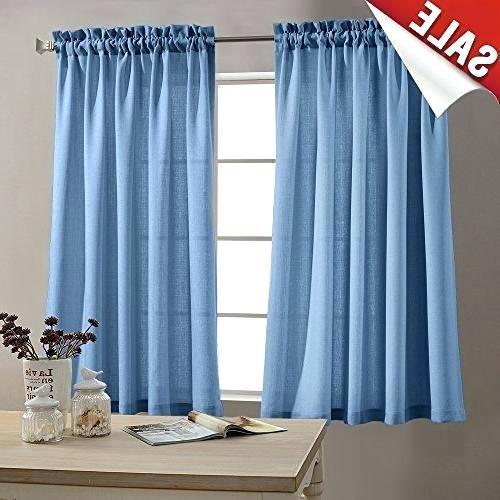 Sheer Kitchen Curtain – Neivacolaborativa (View 22 of 25)