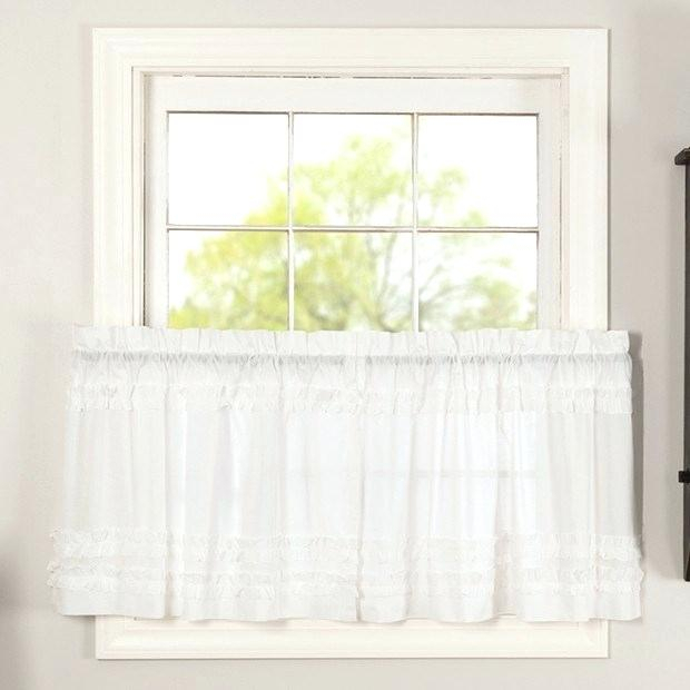 Sheer Tier Curtains – Conor425 Regarding White Ruffled Sheer Petticoat Tier Pairs (View 8 of 25)