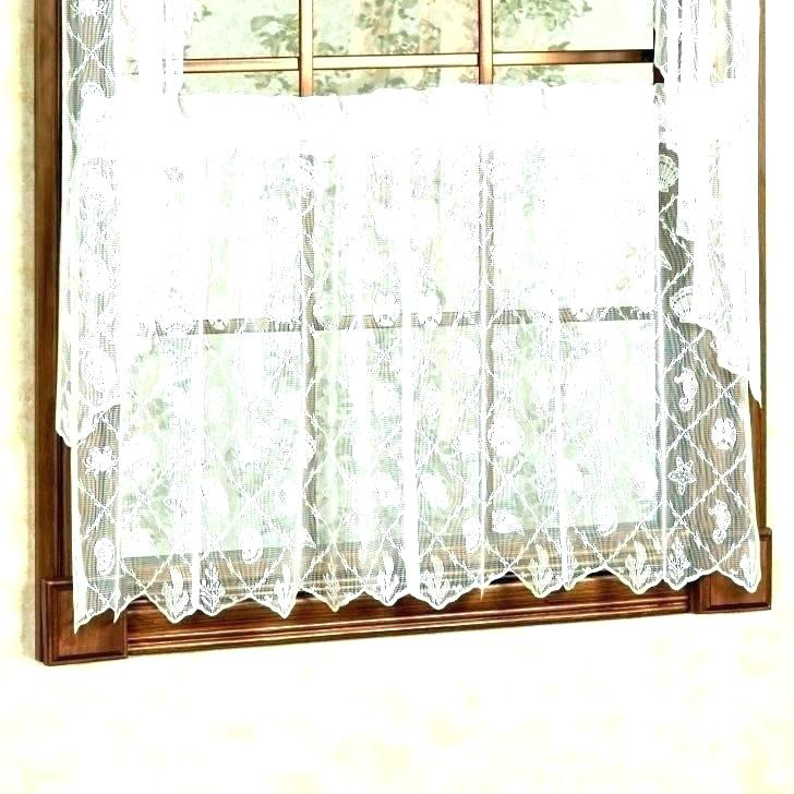 Sheer Tier Curtains – Conor425 Throughout Sheer Lace Elongated Kitchen Curtain Tier Pairs (View 12 of 25)