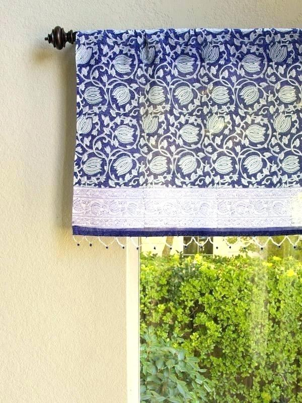 Sheer White Window Valances – Deepss (View 20 of 25)