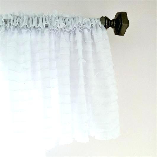 Sheer White Window Valances – Deepss (View 13 of 25)