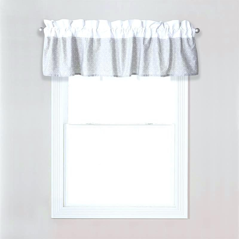 Sheer White Window Valances – Deepss (View 18 of 25)