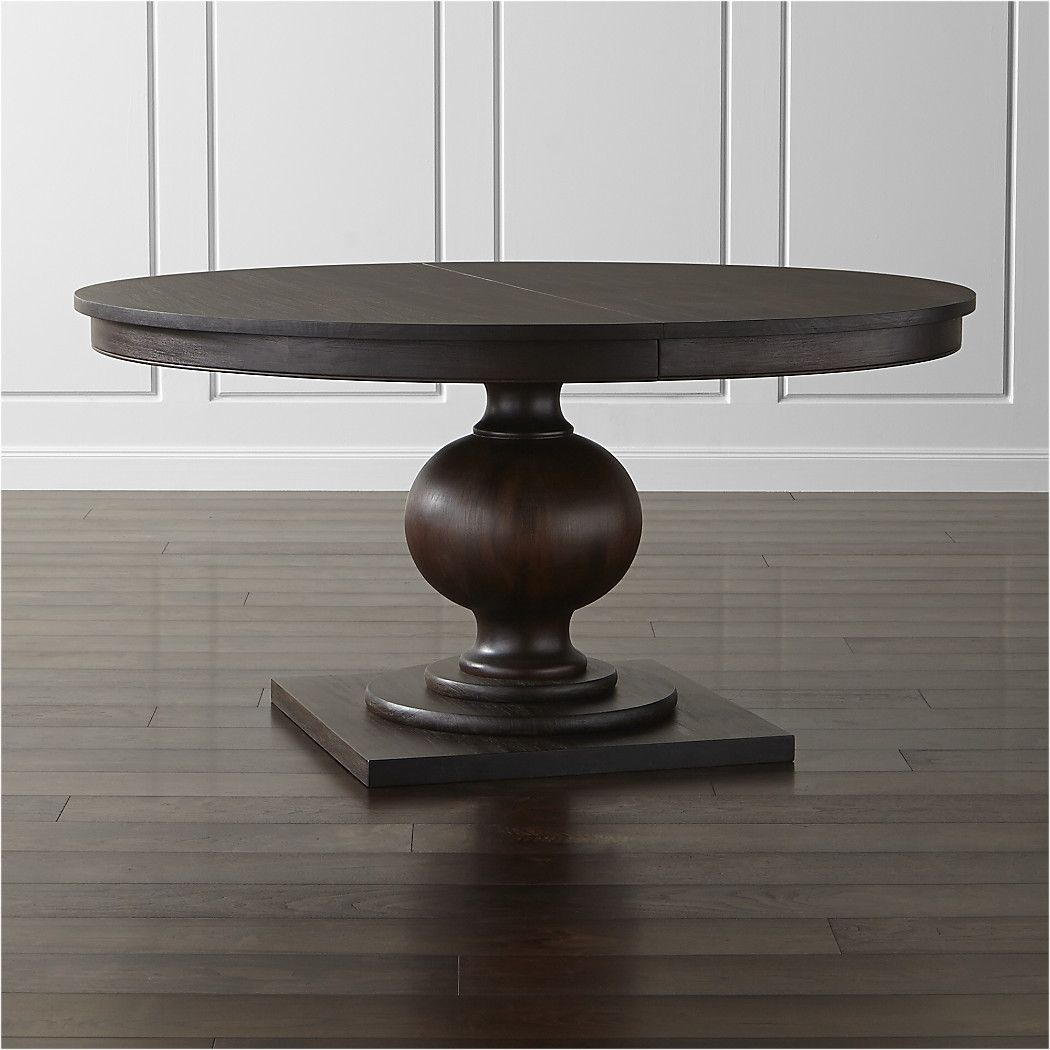 "Shop Winnetka 60"" Round Extendable Dining Table (Image 23 of 25)"