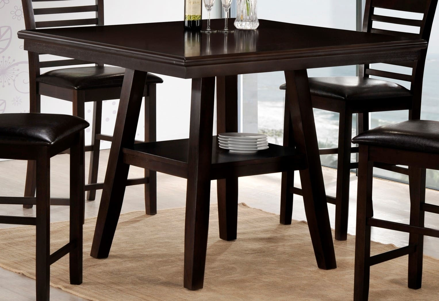 Simmons Upholstery 5007 45 Regarding 2018 Carson Counter Height Tables (View 6 of 25)
