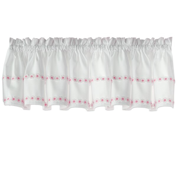 Small Kitchen Window Curtains | Wayfair Inside Spring Daisy Tiered Curtain 3 Piece Sets (Image 21 of 25)