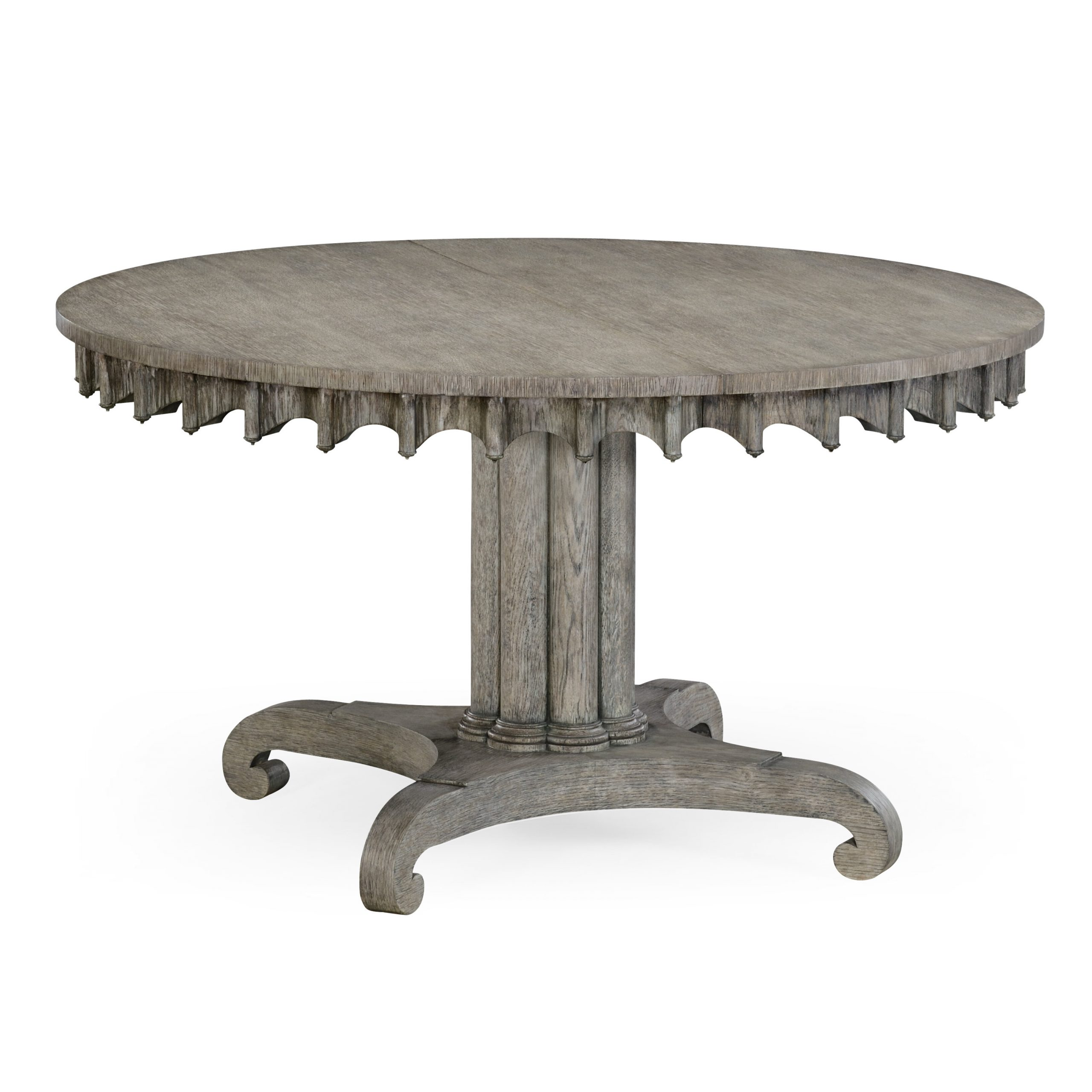 Solid Wood Dining Table Regarding Most Recently Released Cleary Oval Dining Pedestal Tables (View 4 of 25)
