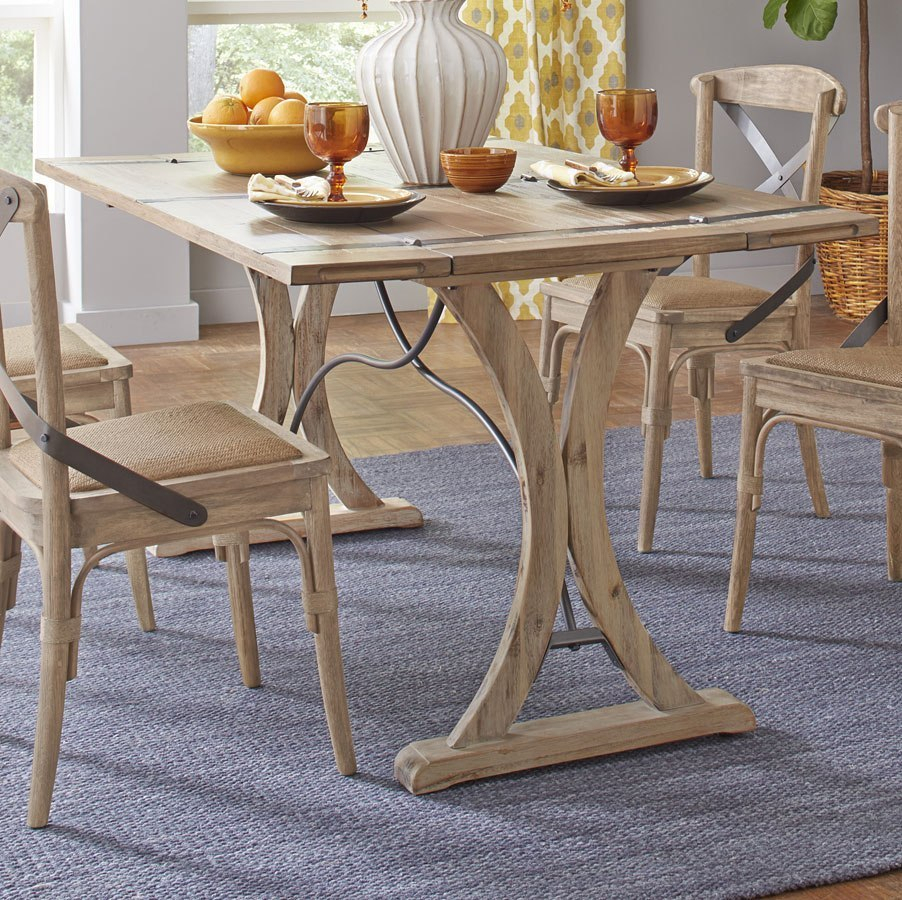 Sonoma Folding Top Dining Table Throughout Most Recently Released Alder Pub Tables (Image 24 of 25)