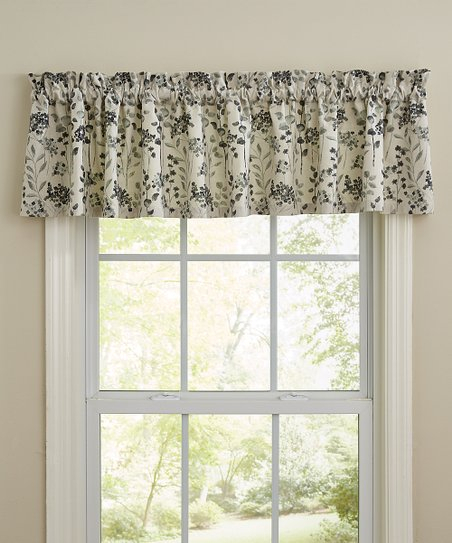 Featured Image of Grandin Curtain Valances In Black