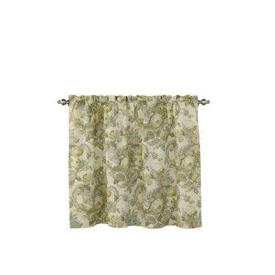 Spring Bling Window Curtain Tier Pair In Platinum – 52 In. W X 36 In (Image 15 of 25)