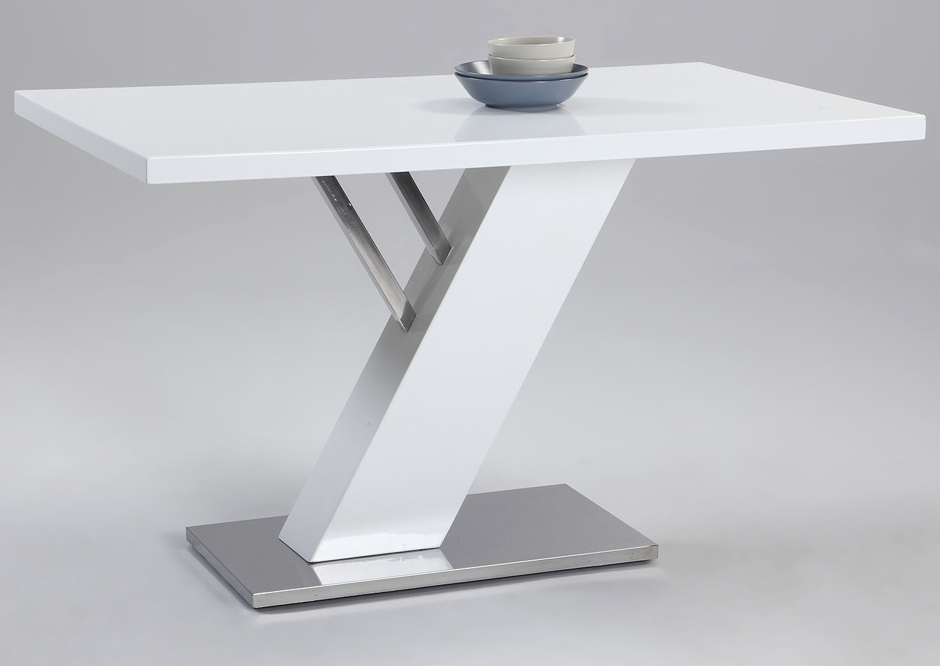 Squan Furniture Linden White Dining Table For Recent Linden Round Pedestal Dining Tables (View 21 of 25)