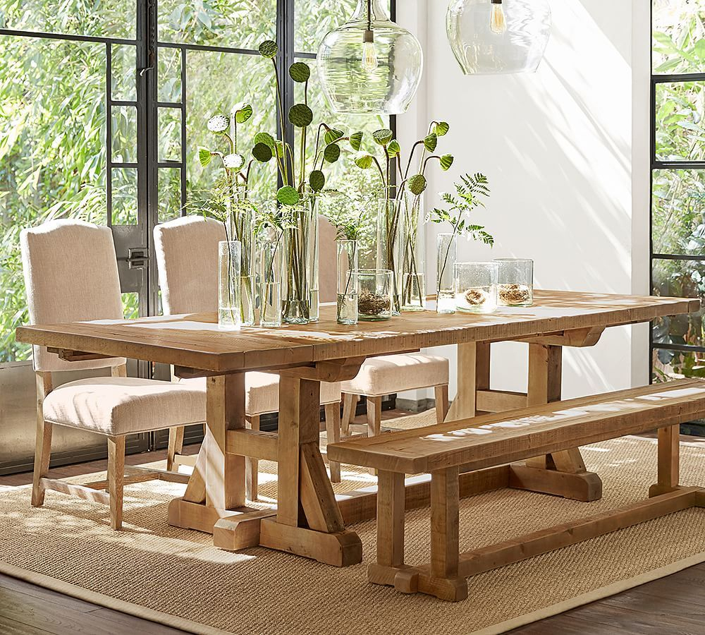 Stafford Reclaimed Pine Extending Dining Table | Table Intended For 2018 Stafford Reclaimed Extending Dining Tables (View 2 of 25)
