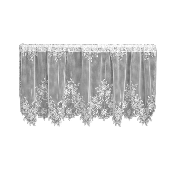 Steinberger Tier Cafe Curtain Regarding Classic Black And White Curtain Tiers (View 11 of 25)