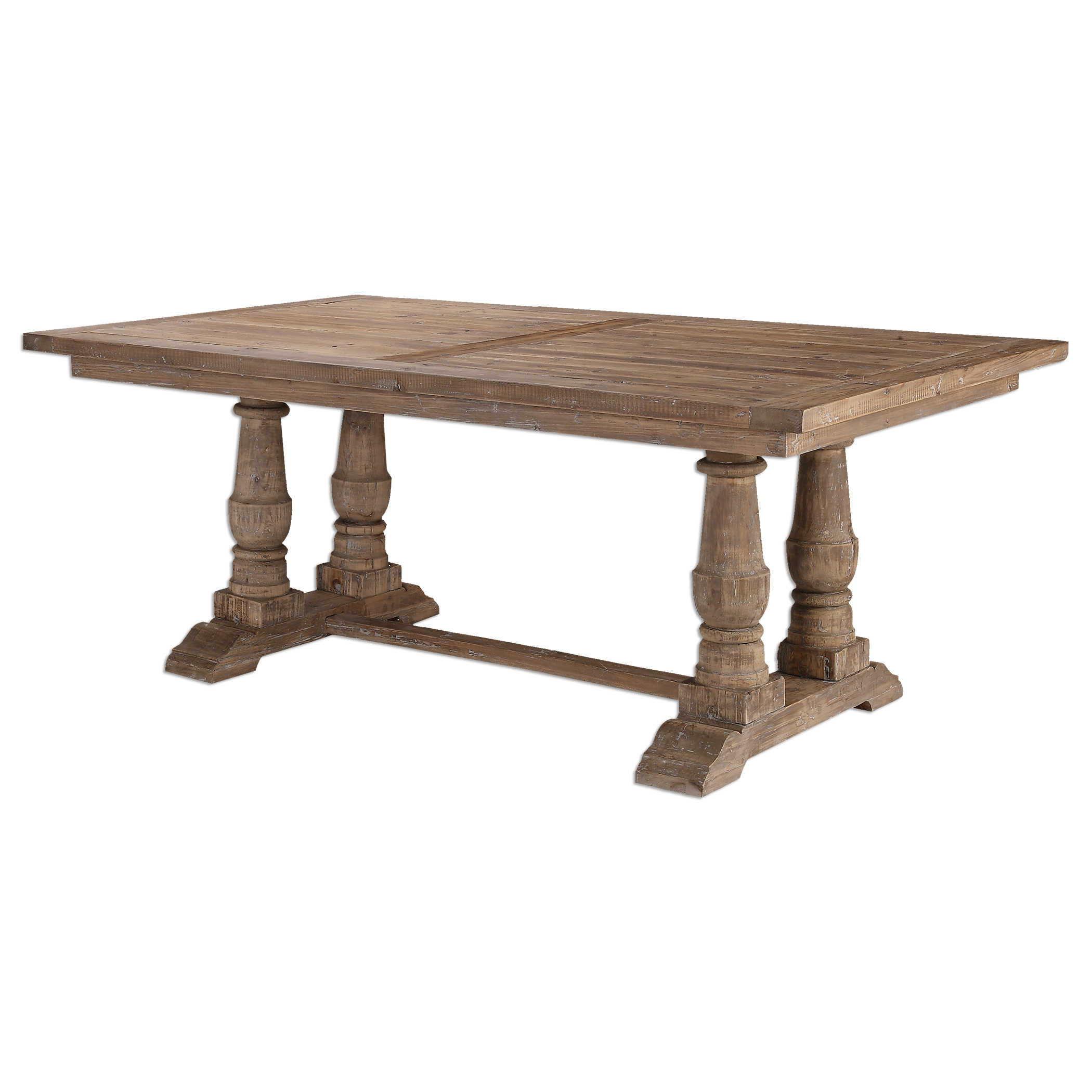 Stratford Dining Table | Uttermost With Latest Stafford Reclaimed Extending Dining Tables (View 3 of 25)