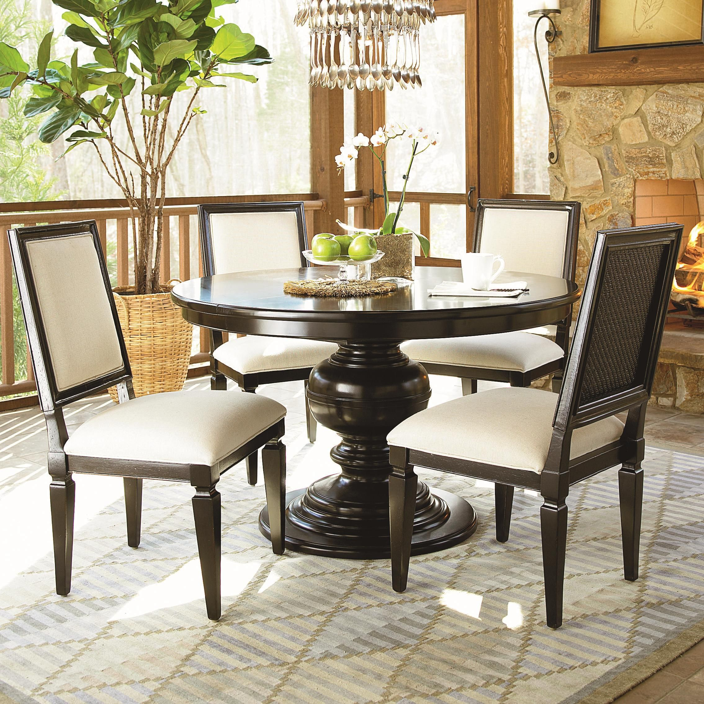 Summer Hill 6 Piece Dining Table And Chair Setuniversal Throughout Current Reed Extending Dining Tables (View 13 of 25)