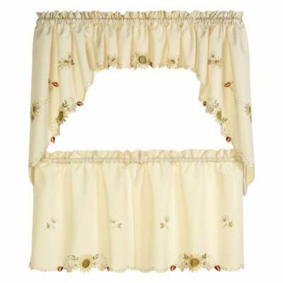 Sunflower Kitchen Curtains – Tallfloorvases (View 24 of 25)