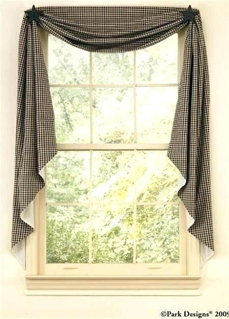 Swag Country Curtains Farmhouse French Simple Life Flax Throughout Simple Life Flax Tier Pairs (View 20 of 25)