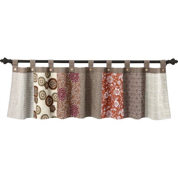 Tab Top Tier Curtains | Wayfair Inside Top Of The Morning Printed Tailored Cottage Curtain Tier Sets (View 9 of 25)