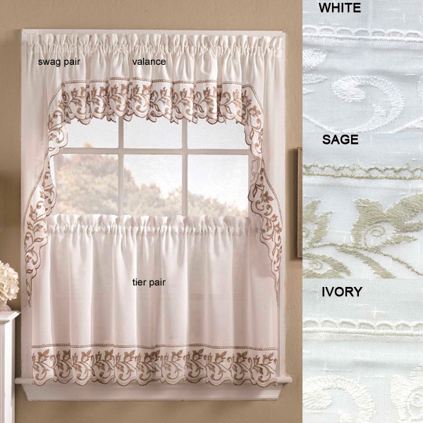 Tailored Valance – Brittany In Tailored Valance And Tier Curtains (View 17 of 25)