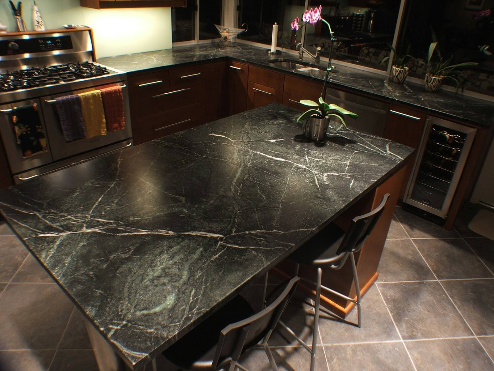 Ten Reasons To Choose Soapstone Countertops – Wow! Local In Inside Most Popular Upland Marble Kitchen Islands (View 4 of 25)