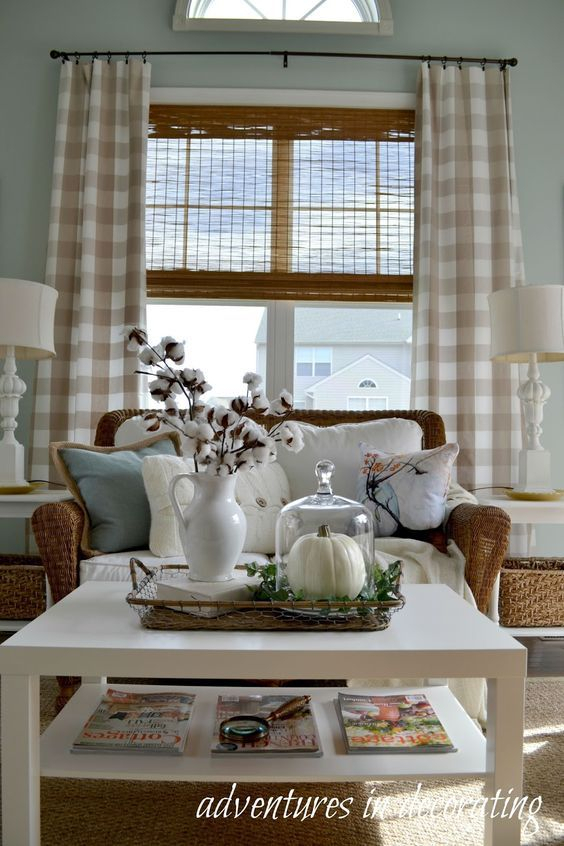 Ten Ways To Add Buffalo Check Without Breaking The Bank Intended For Farmhouse Kitchen Curtains (View 18 of 25)