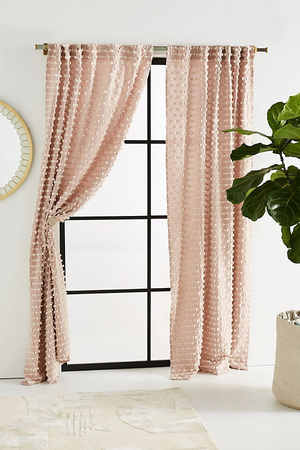 Textured Mareika Curtain | 61 Jane In 2019 | Living Room Within Modern Subtle Texture Solid Red Kitchen Curtains (View 20 of 25)