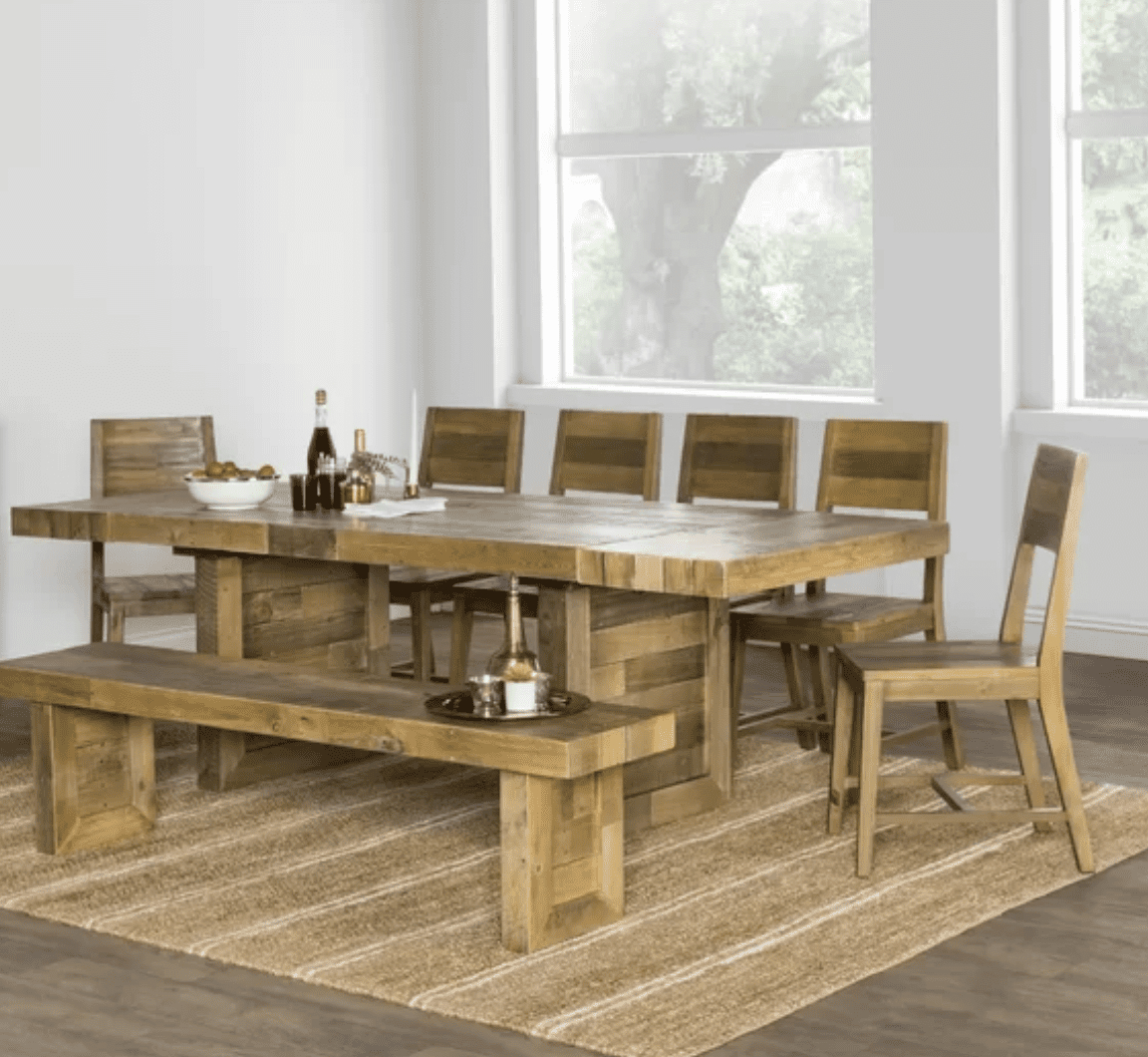 The 9 Best Dining Room Tables Of 2020 Throughout Best And Newest Hewn Oak Lorraine Extending Dining Tables (View 13 of 25)