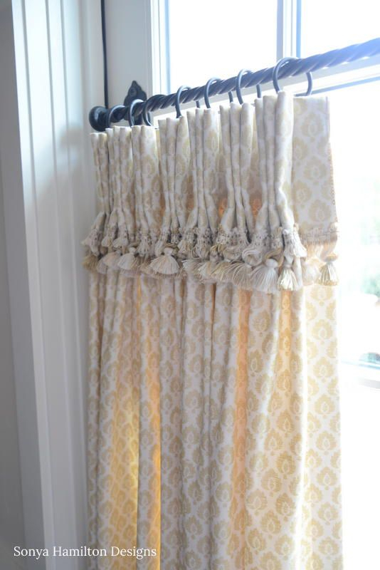The Best Cafe Curtain For A Traditional Dining Room   Sh With Regard To Pleated Curtain Tiers (View 16 of 25)