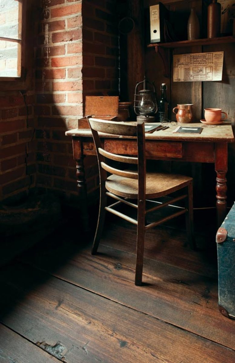 The History Of Wood Flooring – Old House Journal Magazine In Current Brussels Reclaimed European Barnwood Dining Tables (View 20 of 25)